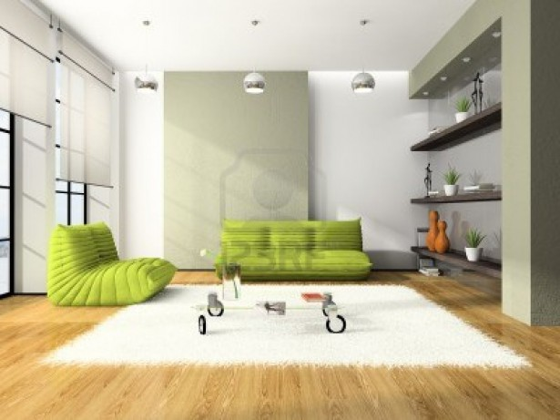 Green Sofas And Eco Friendly Furniture: Marvelous Green Sofas Arts Modern Style Wooden Floor Room ~ stevenwardhair.com Sofas Inspiration