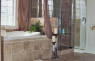 Tile Design For Bathrooms Ideas : Marvelous Modern Glass Shower Room Tile Design For Bathroom