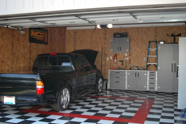 Garage Interior Design Ideas For Minimalist Home: Marvelous Modern Style Wooden Wall Garage Interior Design Ideas ~ stevenwardhair.com Storages Inspiration