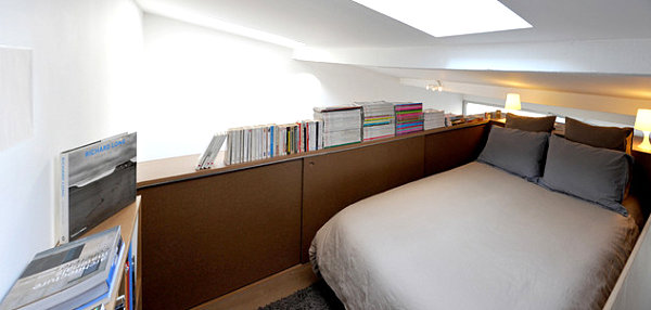 20 Contemporary Ideas Of Enchanting Adult Loft Beds: Maximizing Space In A Small Loft