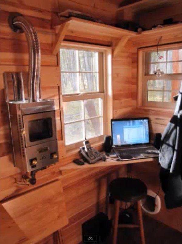 Computer Workstation Ideas, Do Not Be Afraid To Be Creative: Meg And Joes Tiny House Tour Computer Workstation ~ stevenwardhair.com Office & Workspace Design Inspiration