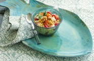Cheerful Table Decor For Your Outdoor Enjoyment : Melamine Platter For Outdoor Entertaining