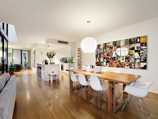 Minimalist Australian Home By Robert Simeoni: 14 Enhancing Pictures: Melbourne Home 8 White Kitchen