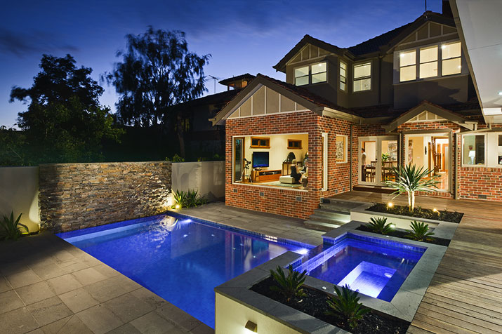 Swimming Pools Melbourne Comes With The Cozy Design: Melbourne Swimming Pool Designer Kiama Pools Melbourne