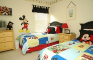 Cute Mickey Mouse Clubhouse Bedroom For Your Lively Kids : Mickey Mouse Room Theme Ideas
