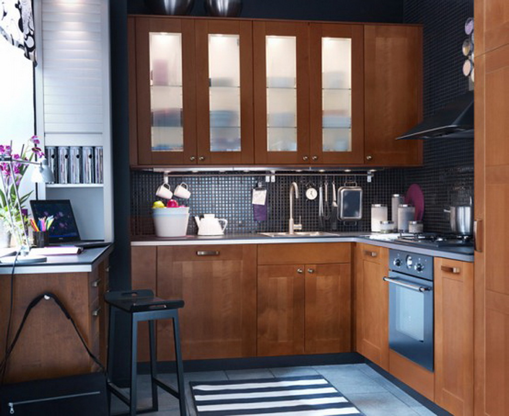 Cute Small Kitchen Table Sets With Style: Minimalist Kitchen Design Small Kitchen Table Sets Wooden Kitchen Cabinet