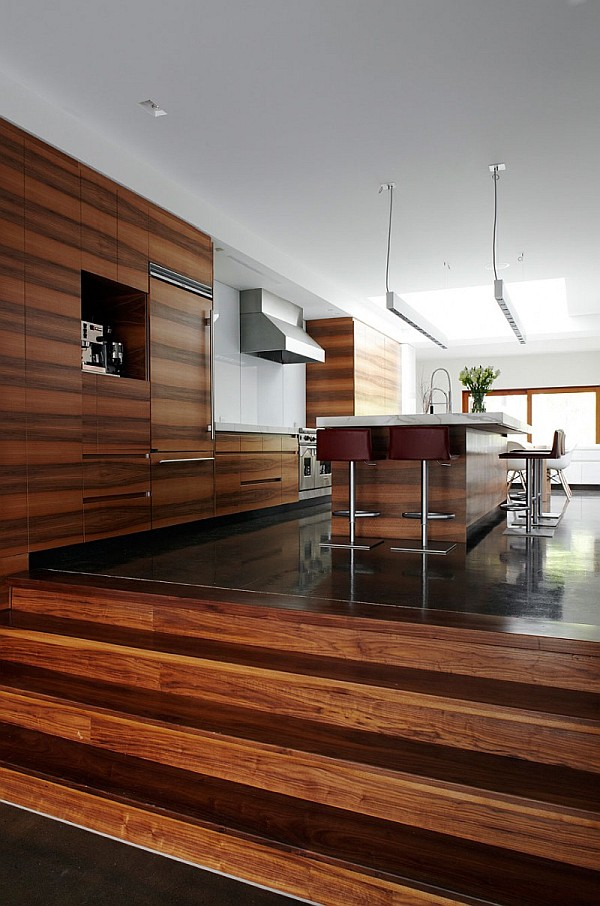 Chic Design Of Semi Minimalist House : Minimalist Kitchen Design