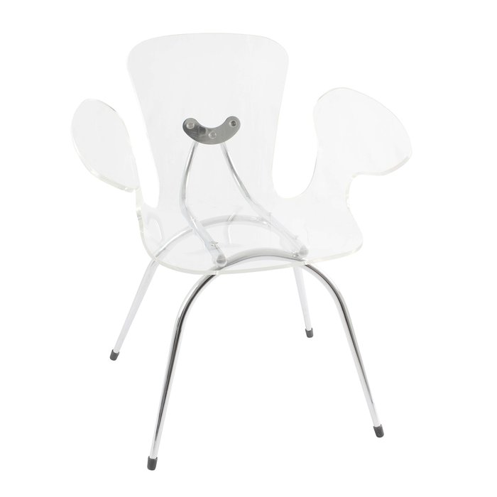 Make Clear Space Look With Stylish Acrylic Chairs : Modern Acrylic Chair