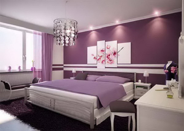 Make Large Your Room With Fresh Paint Colors For Small Bedrooms: Modern Bedroom Color Paint