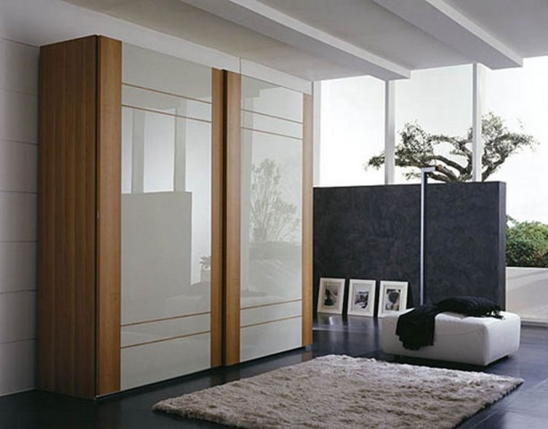 Wardrobe Designs, Integrated And Out Of Imagination: Modern Bedroom Wardrobe Designs White Gloss Closet Door ~ stevenwardhair.com Closets Inspiration