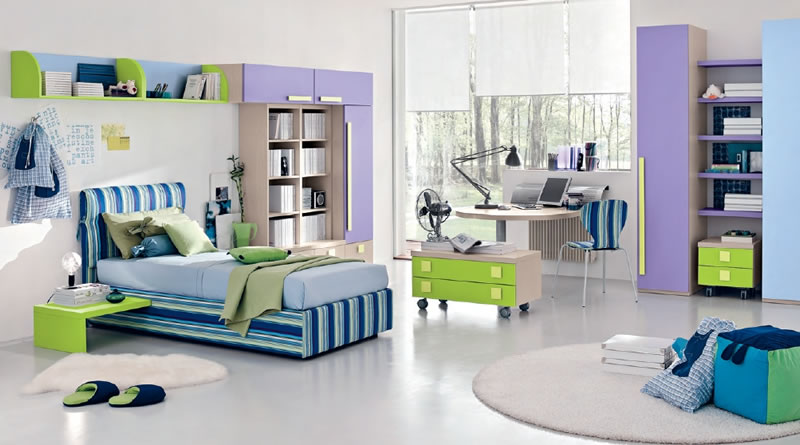 Teenage Bedroom Furniture Comes With The Interesting Idea : Modern Childrens Bedroom Teenage Bedroom Furniture
