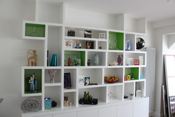 Elegant Modern Shelving To Add Elegant Feeling: Modern Fitted Bookcase ~ stevenwardhair.com Furniture Inspiration