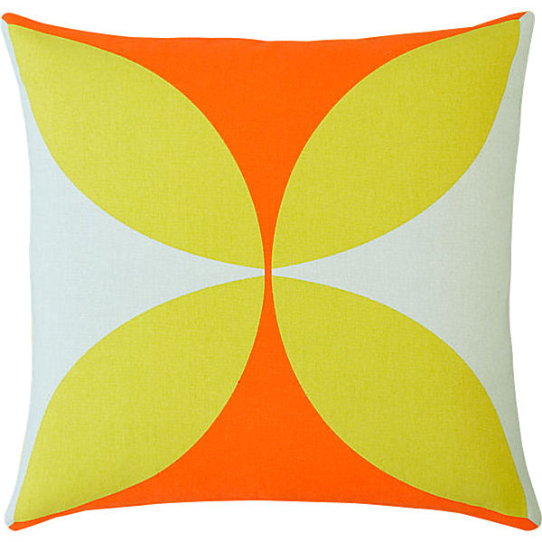 Fresh Throw Pillows For Your Powerful Spring: Modern Geometric Pillow
