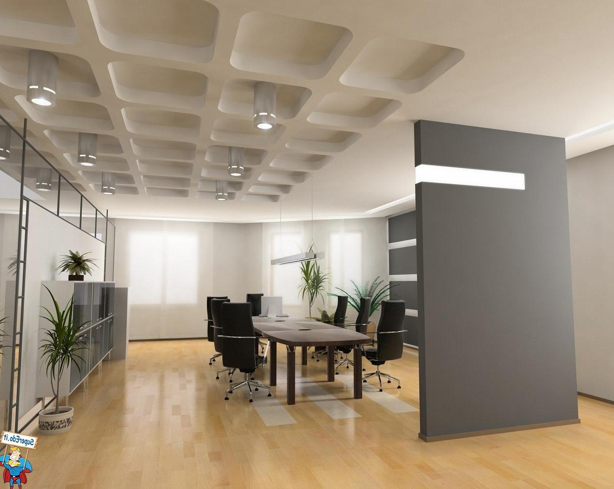 Pleasant Minimalist Office Means Valuable Assets For The Company: Modern Interior Design Ideas House Decorating Ideas