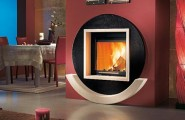 Fireplace Design Ideas For Classic Houses : Modern Italian Fireplace Design Ideas