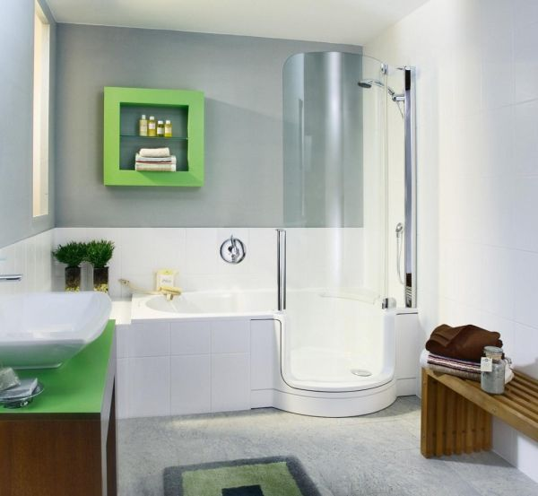 Stunning Kids Bathroom With Nursery Decor: Modern Kids Bathroom Custom Crafted For The Space