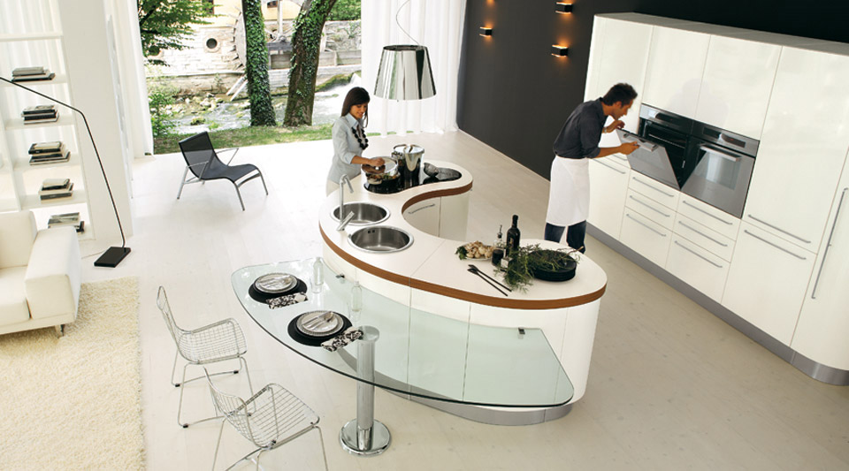 Make A Nice Culinary Space With These Kitchen Designs With Islands : Modern Kitchen  Island