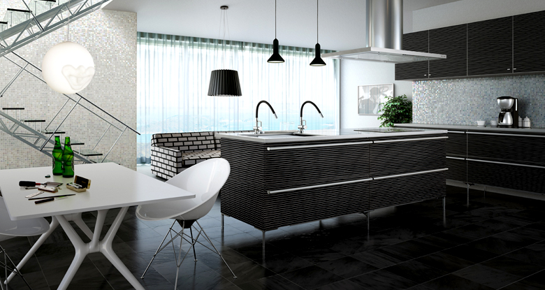 Contemporary Japanese Kitchen Design: Modern Kitchen Patterns