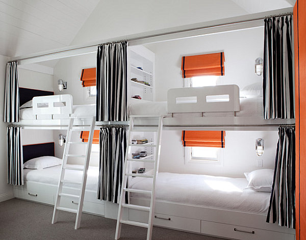 20 Contemporary Ideas Of Enchanting Adult Loft Beds: Modern Loft Sleeping
