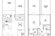 Master Suite Floor Plans; Enjoy Comfortable Residence With Master Suite : Modern Main Level An Upper Level Master Suite Floor Plans Ideas