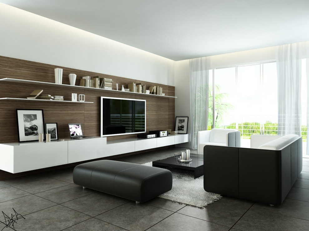 Stylish Living Room Designs Comes With The Interesting Idea : Modern Style Living