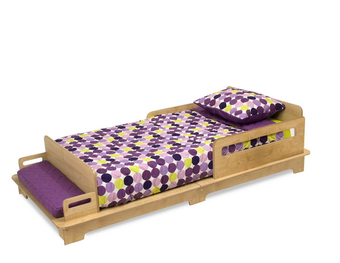 Modern Toddler Bedding Carries Comforting Circumstance: Modern Toddler Cot KidKraft