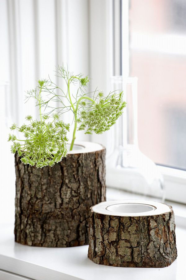 Encouraging Reclaimed Wood Stumps: Modern Tree Trunks Uses 5