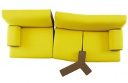 Yellow Sofas And Its Many Designs : Modern Trendy Yellow Sofa