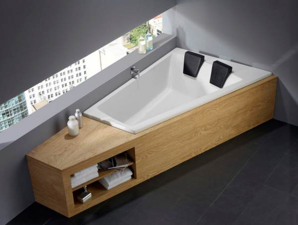 Bathtubs For Two: Love Is In The Air : Modern Two Seater Tub1