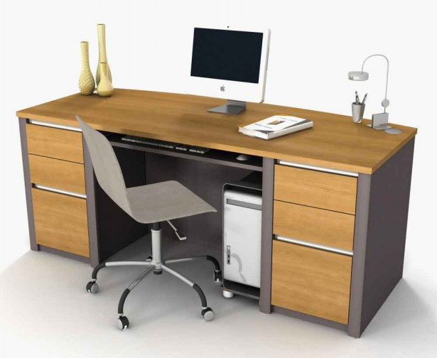 Minimalist Computer Desk For Better Productivity: Modern Tylish Computer Furniture For Office Design And Manufacturers ~ stevenwardhair.com Desks Inspiration