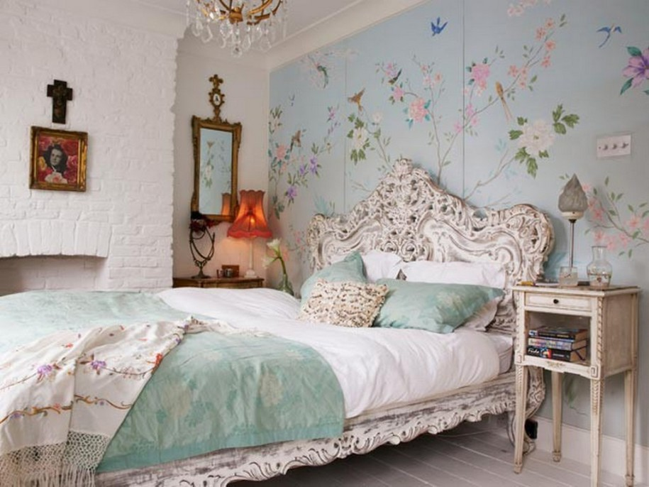 bedroom design elegant vintage bedroom ideas in white color of