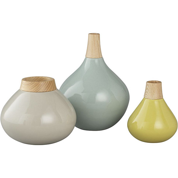 Easter Furnishing For Welcoming Prettiness Of The Spring: 21 Striking Images: Modern Wood And Earthenware Vases