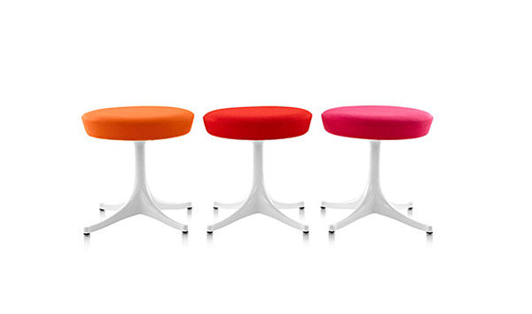 Cool Colorful Furniture Make Bold Statement In The Room : Nelson Pedestal Stools