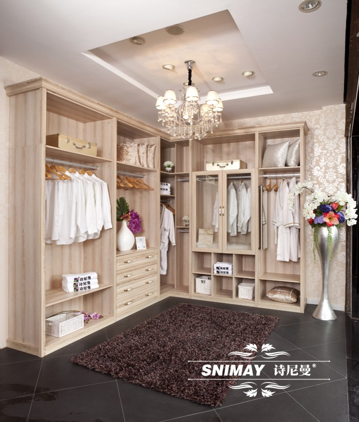 Spanish Decor With The Elegant Design: New Clothes Closet European Deluxe Bedroom Furniture Snw