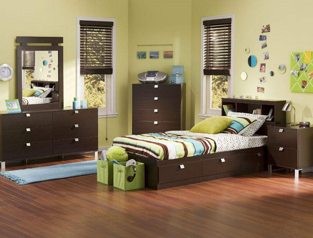 Fabulous Color Of Cool Teenage Bedroom Furniture : Nice Kids Bedroom Design Wooden Cool Teenage Bedroom Furniture
