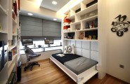 Contemporary Hideaway Beds For Stylish Lifestyle : Office Twin Hideaway Bed