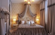 Traditional Elegant Bedroom: Classic And Dramatic : Opulent Romantic Bedroom Design