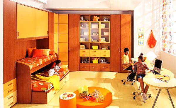 Variant Cool Bedroom Ideas For Guys Among Real Inspiring Design: Orange Themed Teenage Boys Rooms