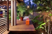Interesting Outdoor Home Brings The Unusual Moment : Outdoor Home Mulch Mixed Types
