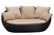 Wicker Daybed For A Guest Room : Outdoor Wicker Santana Day Bed