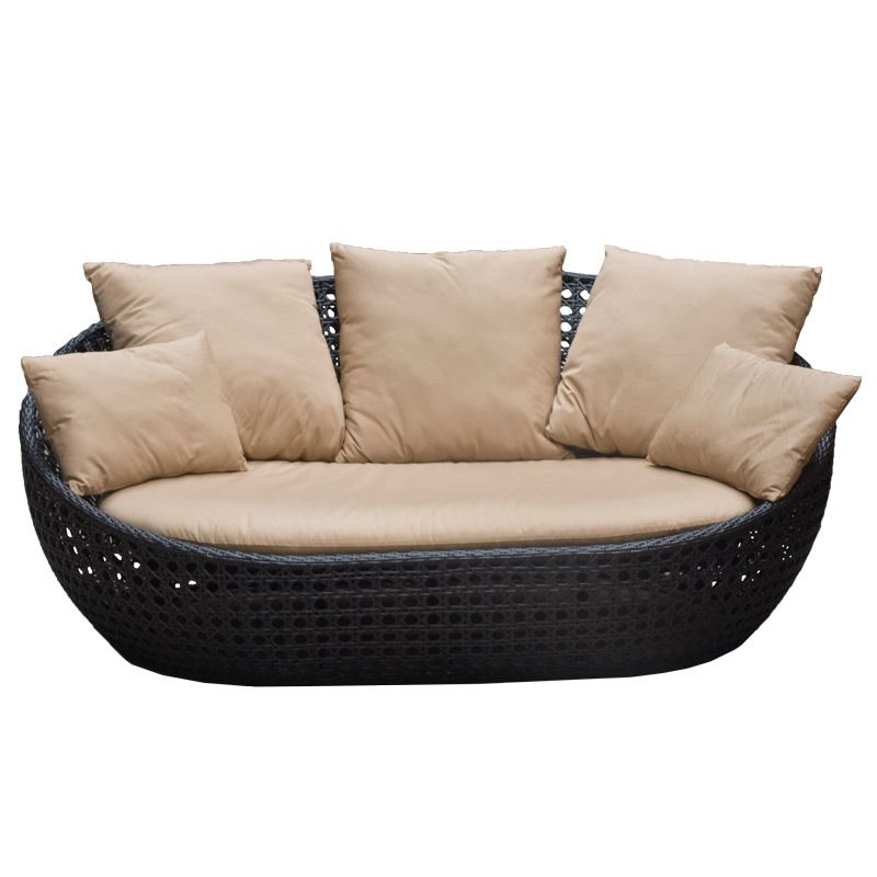 Wicker Daybed For A Guest Room: Outdoor Wicker Santana Day Bed