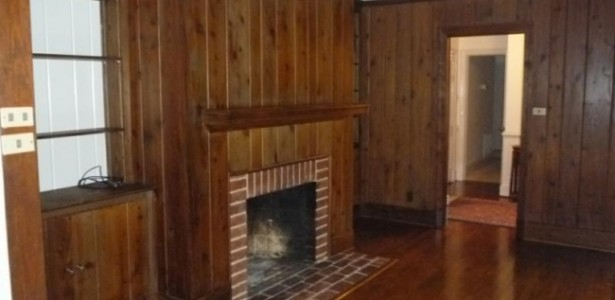 Sleek Painting Knotty Pine Paneling For Simple Traditional Home : Painting Knotty Pine Paneling