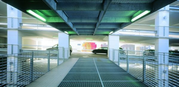 Awesome Parking Garage Designs; 11 Amazing Images : Parkhaus Engelenschanze Inside The Glass Car Palace