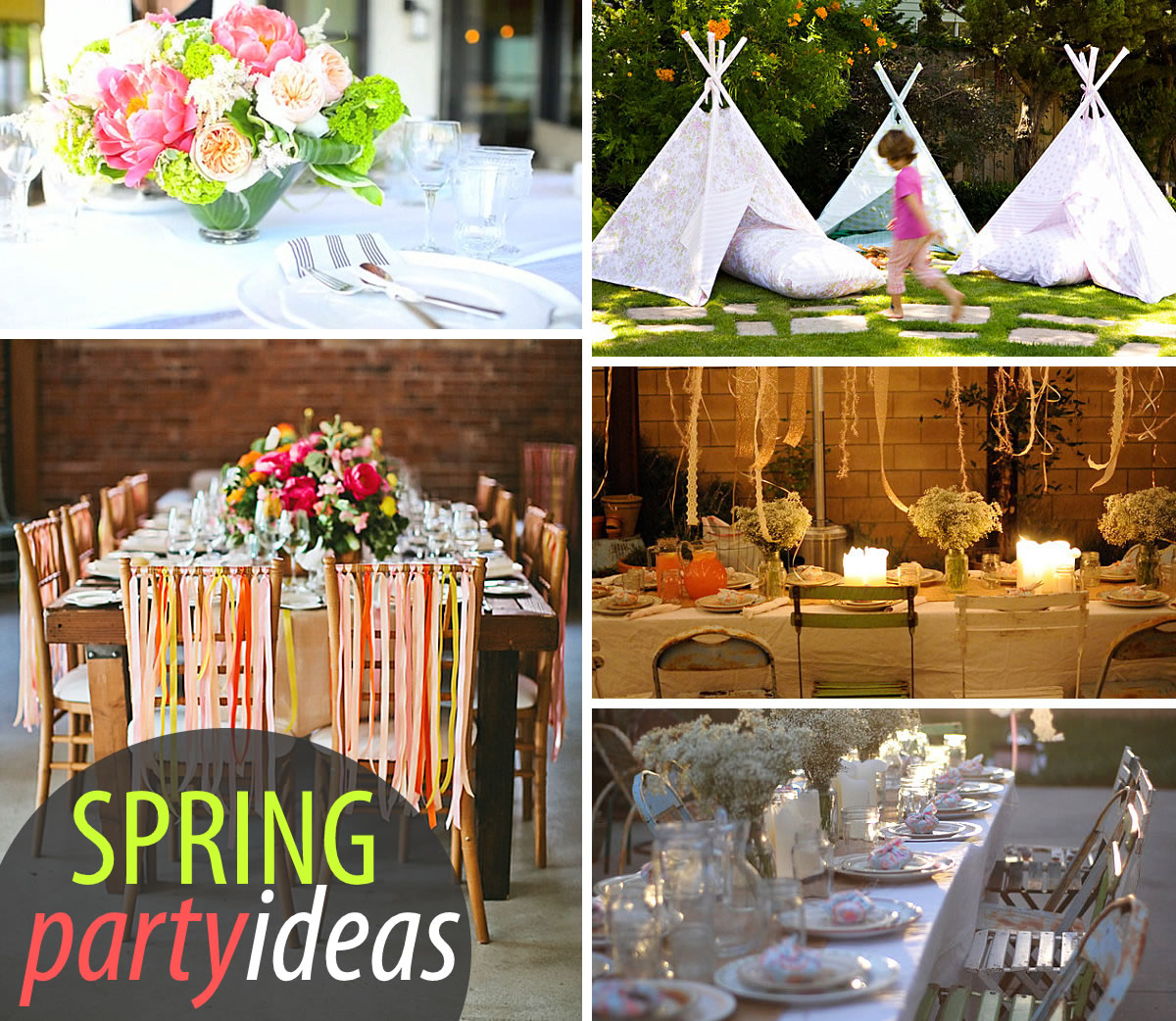 Bright Spring Party: 20 Lively Ideas: Party Ideas Spring