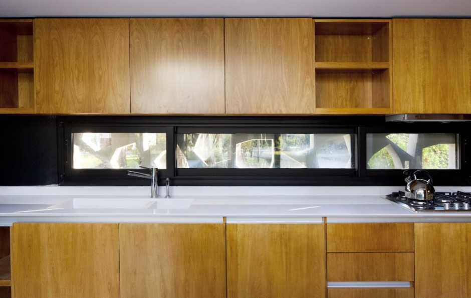 Unique Opulent Modern Getaway In Buenos Aires: Perfect Kitchen Furniture Design Used Modern Wooden Material For Inspiration