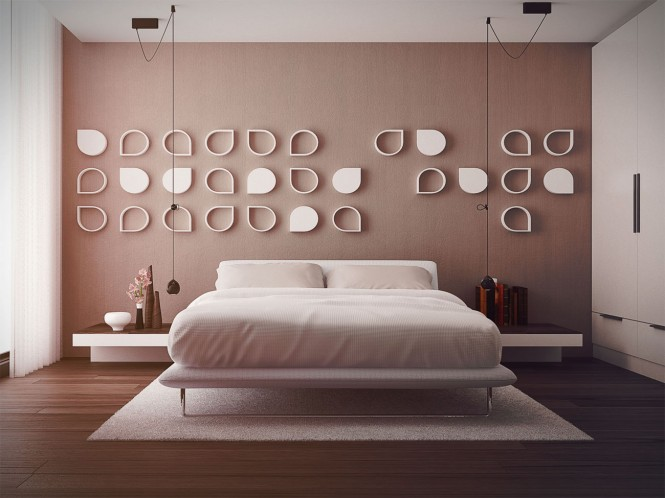 Smart And Playful Bedroom Style For Your Room: Pink Bedroom Design