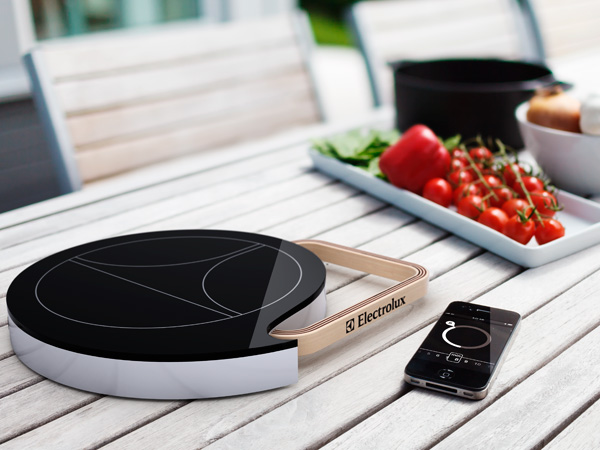 Simple Kitchen Gadget To Ease You Cook: Powerful Electrolux Portable Induction Cooktop For Modern Kitchen Design ~ stevenwardhair.com Kitchen Designs Inspiration