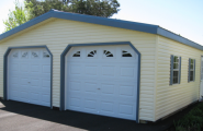 Fine Designed Prefab Garage With Visual Simplicity : Prefabricated Garages Come In Wood