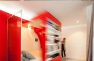 Enjoyable Colorful Bedroom For Unique Room Coloring : Red Bedrooms Themed Fresh Red