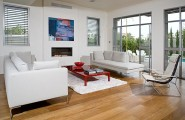 Lacquered Furniture For Gorgeous Interior Performance : Red Lacquered Coffee Table